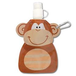 STEPHEN JOSEPH dětská plastová lahvička Opice