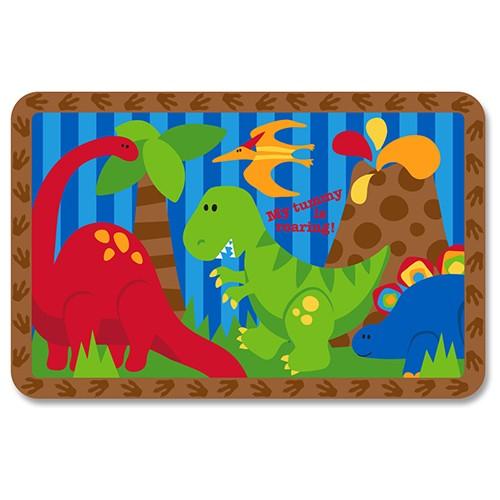 STEPHEN JOSEPH dětské prostírání Dinosaur