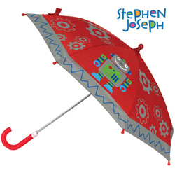 STEPHEN JOSEPH dětský deštník Robot