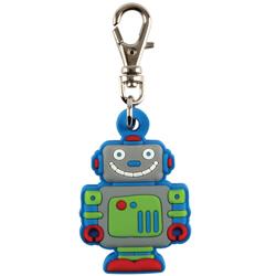 STEPHEN JOSEPH dětský přívěšek na zip Robot