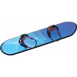 Dětský plastový snowboard, modrý