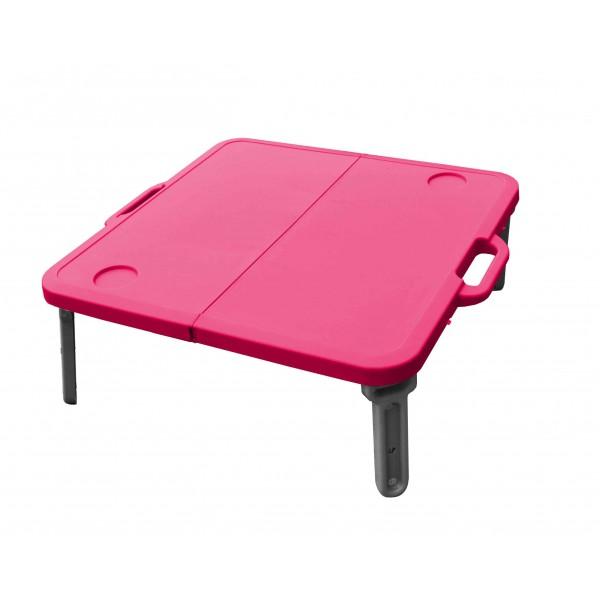 MINI skládací stolek k lehátku, červený