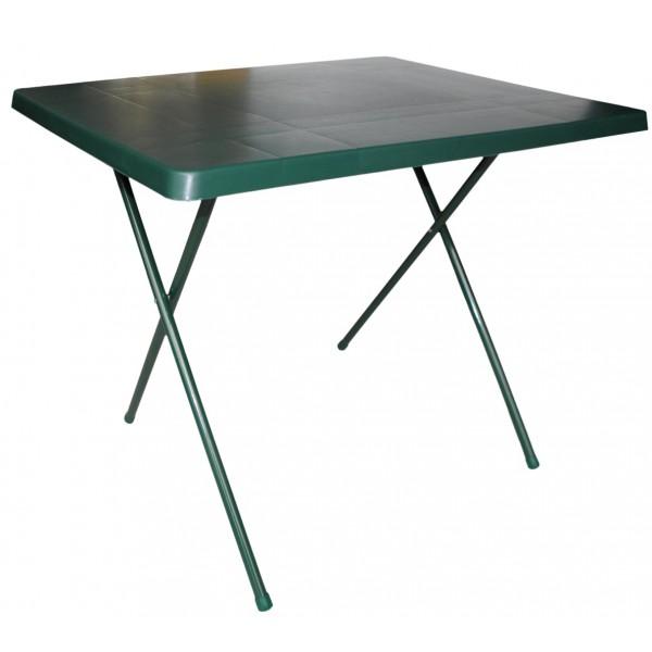 Plážový skládací stolek 80x60cm, zelený