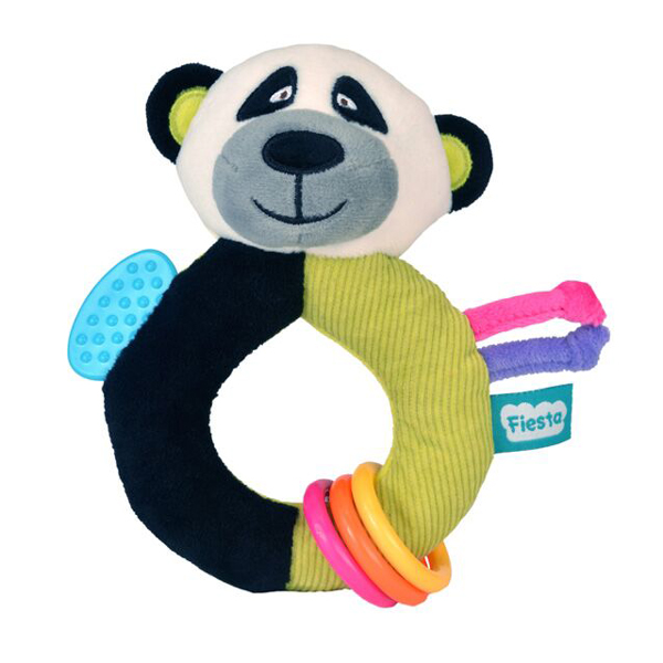 Fiesta Crafts - Chrastítko s kousátkem - Panda