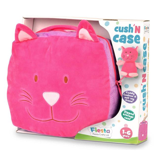 Fiesta Crafts - Cestovní polštář Kočička
