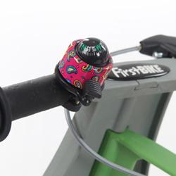 First BIKE - Kompas zvonek růžový